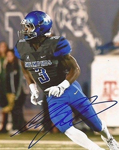 innovative design d4af1 ad9b5 Signed Anthony Miller (Chicago Bears) Photo - Memphis Tigers ...