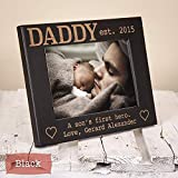 Cheap Personalized Dad & Son Picture Frame – A Sons First Hero – HHDPF