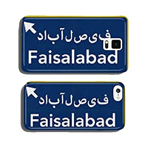Faisalabad Pakistan Highway Road Sign cell phone cover case iPhone5
