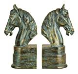Cheap Deco 79 75390 Polystone Bookend Pair Exhibits Passion for Books