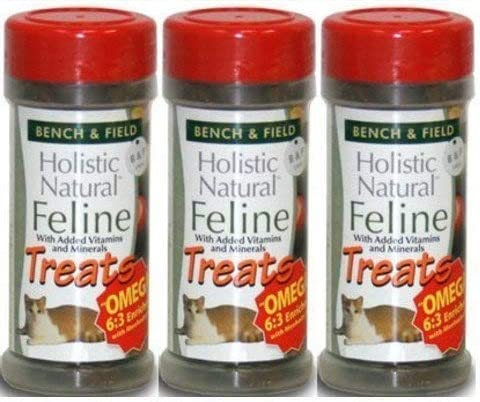 Trader Joe s Bench Field Holistic Natural Feline Cat Treats – 3-Pack