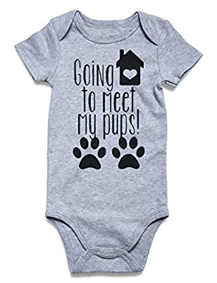Loveternal Funny Infant Romper Jumpsuit Baby Layette Cotton Bodysuit One-Piece Newborn Clothes