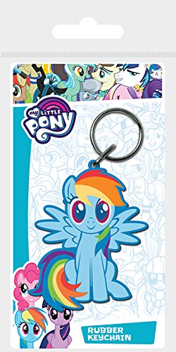 Pyramid International My Little Pony (rainbow Dash) Keychain 4.5 x 6cm, (Dash Chain)