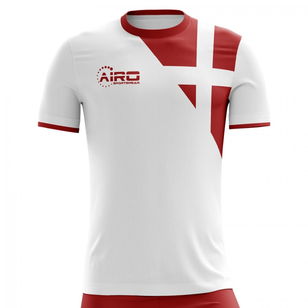 b2f69f32d9e Airo Sportswear 2018-2019 Denmark Away Concept Football Soccer T-Shirt (Kids):  Amazon.co.uk: Sports & Outdoors