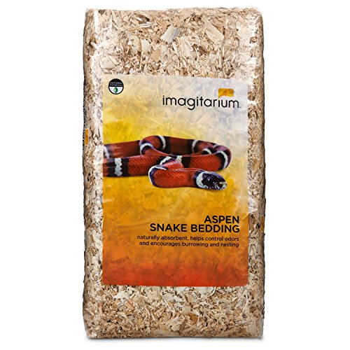 Imagitarium Aspen Snake Bedding, 500 cu. in.