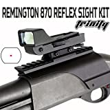 Trinity Red Dot Reflex Sight – Remington 870 Pump 12 Gauge red dot, Single Rail Mount. For Sale