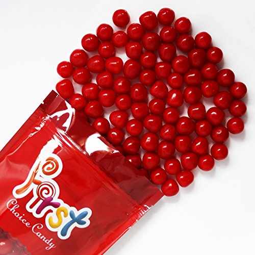 FirstChoiceCandy Red Cherry Fruit Sours Chewy Candy Balls 2LB Bag -