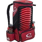 Latitude 64 Easy-Go Backpack Disc Golf Bag (Red)