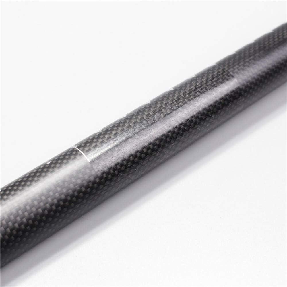 Negro para Mountain Bike Gear QYWSJ Tija de Sill/íN de Fibra de Carbono 350 // 400mm Ciclismo MTB Pro Parts Super Light 27.2//30.8//31.6mm