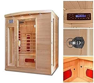 Home Deluxe Cabina de Sauna Infraroja Tropical L