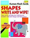 Shapes Write and Wipe! (Kumon Flash Cards)
