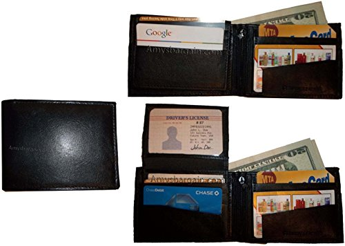 of Ids Lot NWT Wallet Man's 3 2 Billfold 10 Leather Card Bifold Purse Change 3 qwCSPdnC