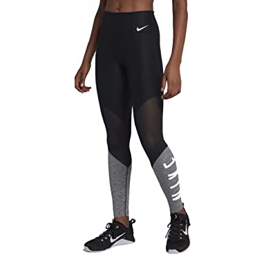 f1a4fc52cf2e41 Amazon.com: Nike Pro Womens Mid Rise Training Power Tights: Clothing