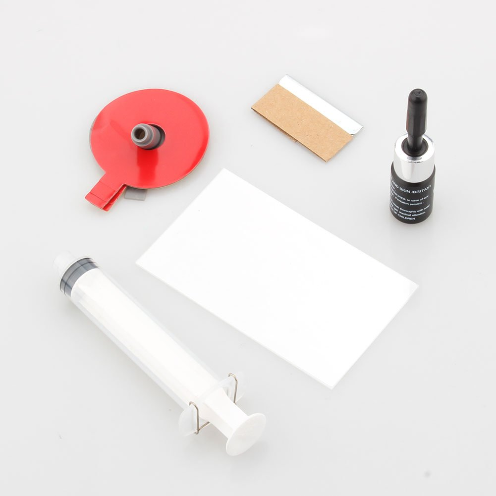 Yosoo Windschutzscheibe Reparaturset Autoglas DIY Tools Reparatursatz