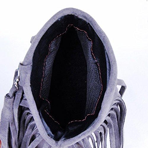 Damen AIYOUMEI Damen AIYOUMEI Boot Classic Grey xvx0REwqr