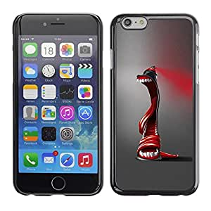Be Good Phone Accessory // Dura Cáscara cubierta Protectora Caso Carcasa Funda de Protección para Apple Iphone 6 Plus 5.5 // Abstract Spray Paint