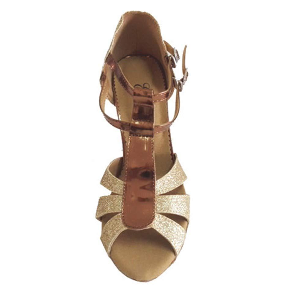 HCCY Latin-Tanzschuhe Latin-Tanzschuhe Latin-Tanzschuhe Chalcamba Damen-Indoor-Leder-Tanzschuhe mit weichem Boden e6ab1d