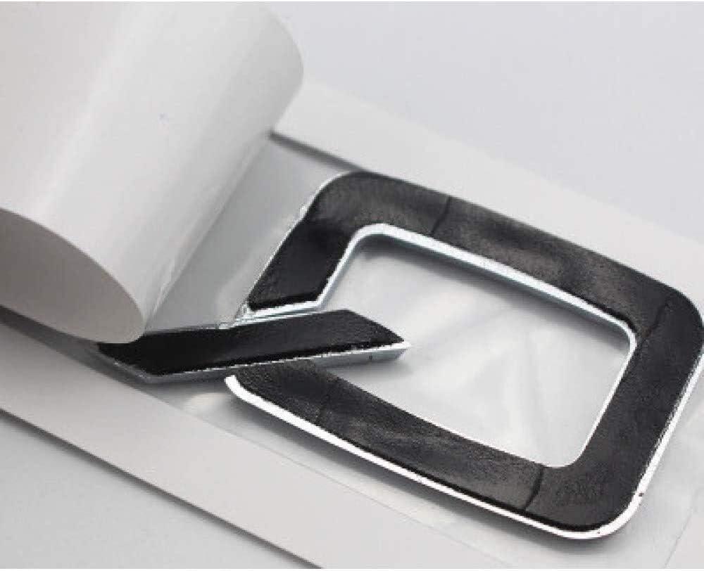 Colore: Q5 Distintivo Adesivo Auto Argento Cromato ABS Corpo Bagagliaio Posteriore del Distintivo dellemblema Sticker Accessori BEIZI Auto Decorazione Distintivo for Audi Q3 Q5 Q7 Color : Q3