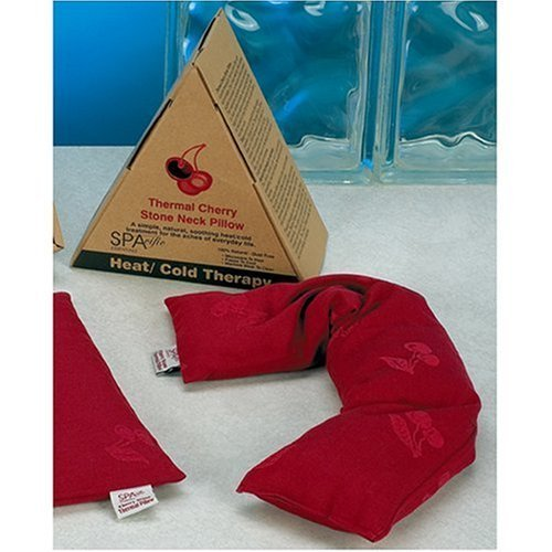 Hot and Cold Therapy Thermal Cherry Stone Neck Pillow Wrap by Spacific
