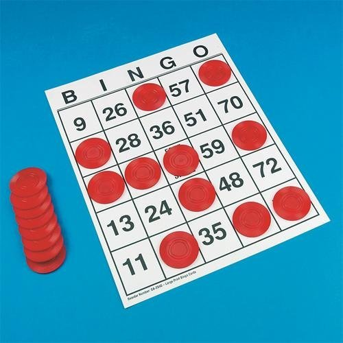 Bingo/Poker Chips (Set of 100) by S&S