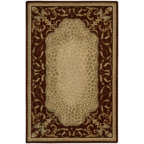 Nourison Versailles Palace (VP20) Red Runner Area Rug, 2-Feet 3-Inches by 8-Feet  (2'3