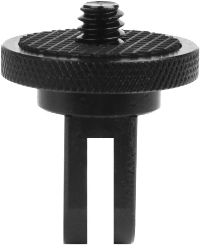 Horenme Aluminum Alloy 1//4 Inch Mini Tripod Adapter Mount for Ǵọṗṙọ Hero 7 5 6 Session Sjcam Sj4000 /Χiaọṁi Yi 4K Eken H9 Camera Accessory