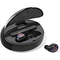 Wireless Earbuds, Bluetooth 5.0 True Wireless Bluetooth Earbuds, IPX5 Sweatproof In-Ear Mini Bluetooth Headphones with 1500 mAh Charging Case 10 Hrs Talking Time Stereo HiFi Sound for Running, Driving, Gym and More