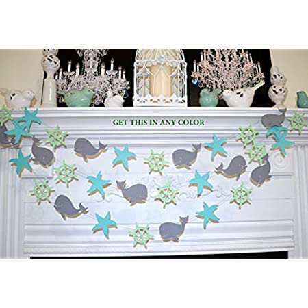 51tq6EnYbiL._SS450_ Beachy Starfish and Seashell Garlands