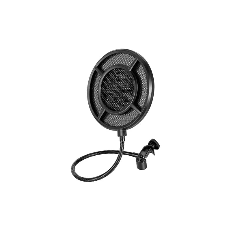 Pop Filter 6-Inch for Blue Yeti Micropho