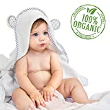 Kyпить Organic Bamboo Hooded Baby Towel – Soft, Hooded Bath Towels with Ears for Babies, Toddlers – Hypoallergenic, Large Baby Towel Perfect Baby Shower Gift for Boys and Girls by San Francisco Baby на Amazon.com