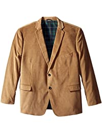 Men's Big and Tall Cotton Corduroy Sport Coat