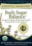 Lifestyle Awareness Teas, Body Sugar Balance, 20 Tea Bags (Tulsi Holy Basil) by Lifestyle Awareness