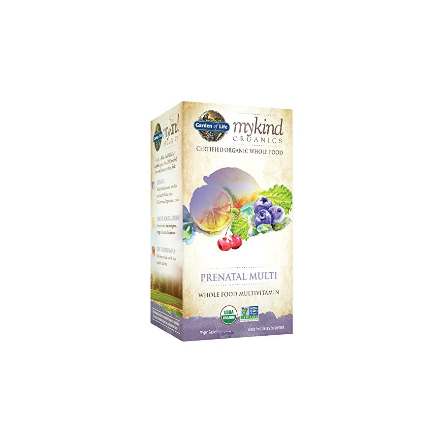 Garden of Life Organic Prenatal Multivitamin Supplement with Folate mykind