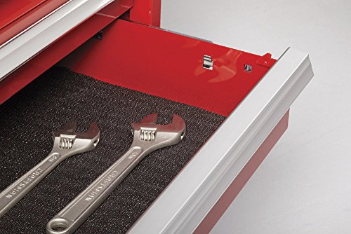 Waterloo PCA-36821RD Professional HD Series 8-Drawer Rolling Tool Cabinet, Red Finish, 36'' W by Waterloo (Image #2)