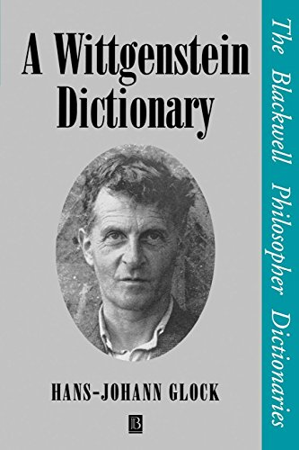 A Wittgenstein Dictionary
