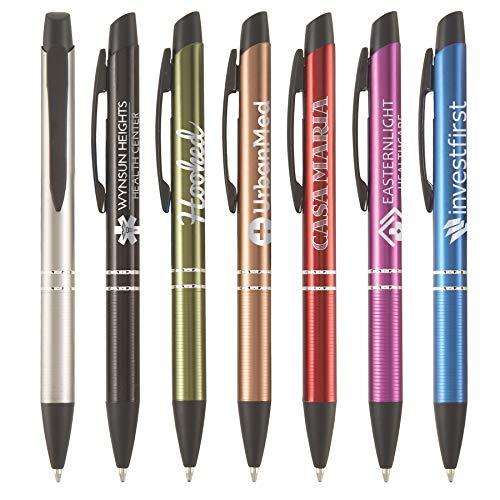 Custom Pens - Tre Bello - LaserMax - Metal Pen - $1.7/pc, Qty 100, No Setup Cost, Personalize With Logo PromoStadiumTM