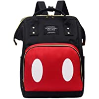 RIBITENS Multi-functional Large Capacity Maternal and Child Backpack Diaper Bag Mummy Backpacks