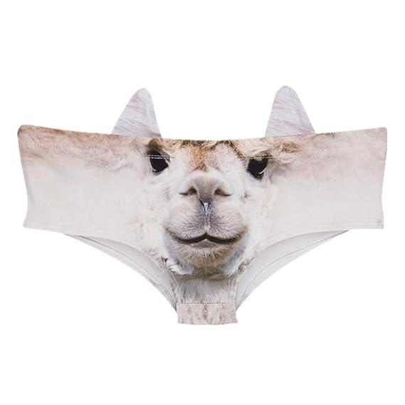 Mujer Traviesa Panty Atractivo Divertido Impreso 3D Ropa ...