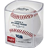 Rawlings Sporting Goods ROMLBSTFL17-R MLB 2017 Official Spring Training Baseball Florida in Display Cube, White