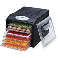 "Samson ""Silent"" Dehydrator 6-Tray with Digital Controls"