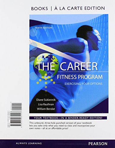 The Career Fitness Program: Exercising Your Options, Student Value Edition Plus NEW MyLab Student Success Update --Acces
