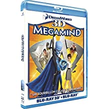 Megamind - Combo Blu-ray 3D active + Blu-ray 2D