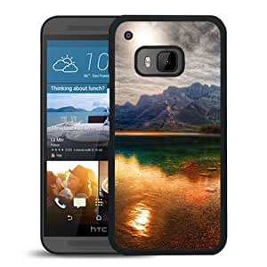 Colorful Mountain Reflection Durable High Quality HTC ONE M9 Phone Case