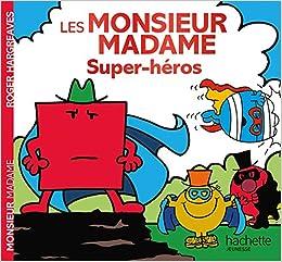Monsieur Madame Super Heros Amazon Fr Roger Hargreaves