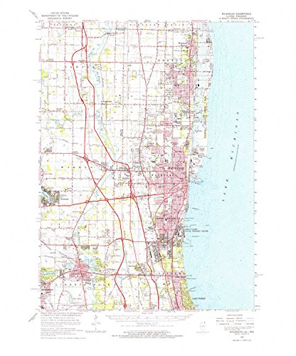 (YellowMaps Waukegan IL topo map, 1:62500 scale, 15 X 15 Minute, Historical, 1960, updated 1962, 21.7 x 18 IN - Paper)