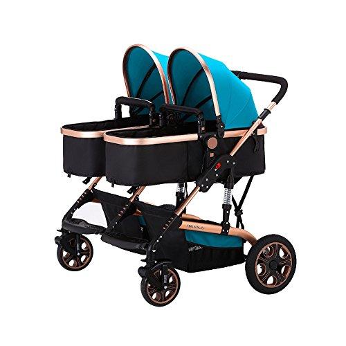 Blue Expedition Jogging Stroller - 7
