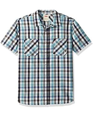 Men's Barrington Short Sleeve Plaid Shirt