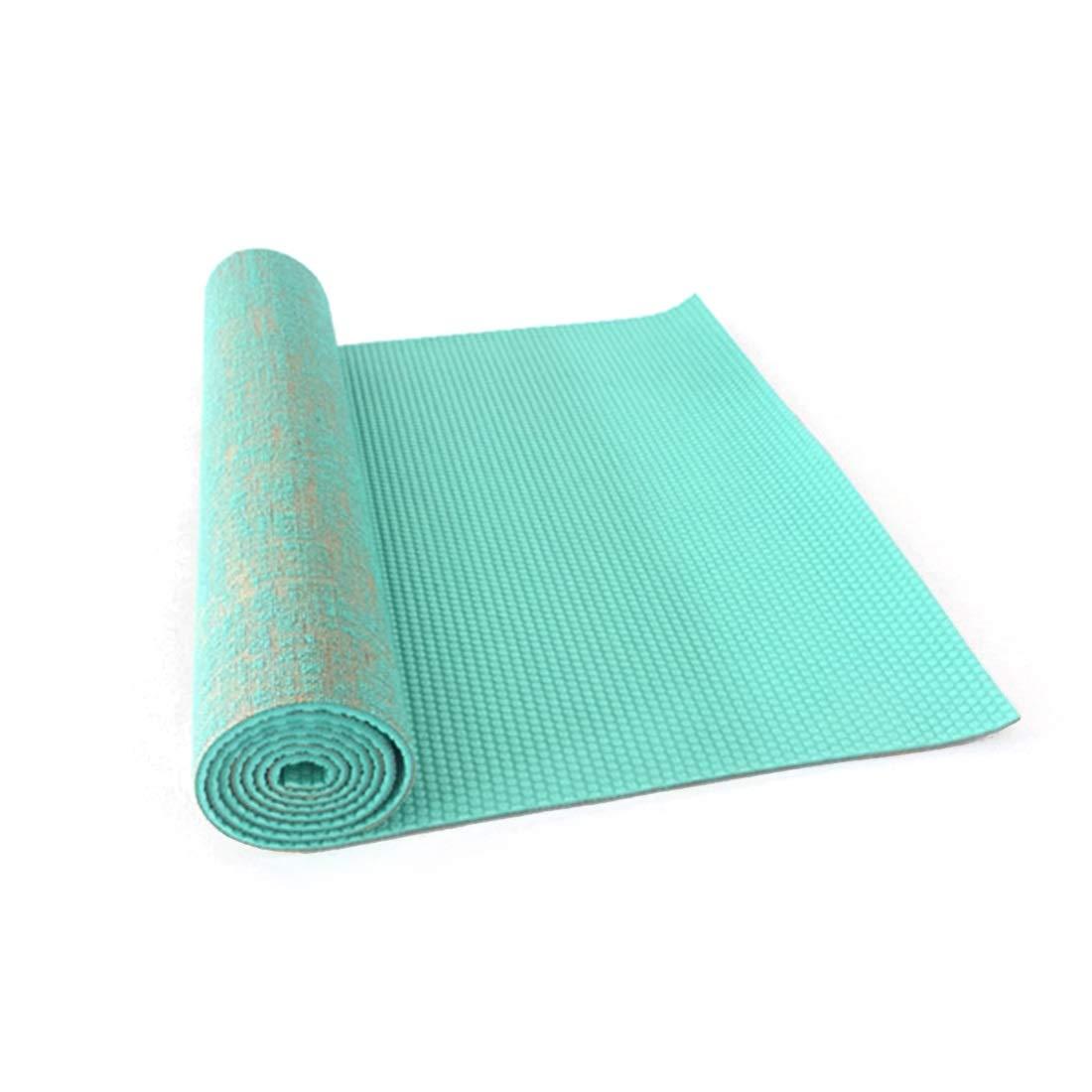 LINANNAV PVC Yoga Mat Ambientalmente amigable Antideslizante ...