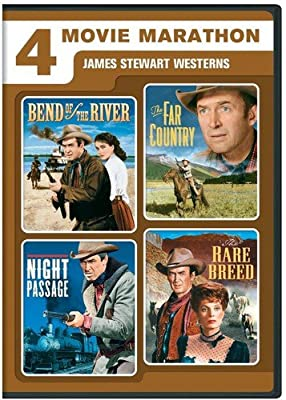 4 Movie Marathon: James Stewart Western Collection (Bend of the River/The Far Country/Night Passage/The Rare Breed)