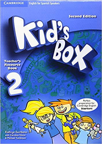 Book Kid's Box for Spanish Speakers Level 2 Teacher's Resource Book with Audio CDs (2)